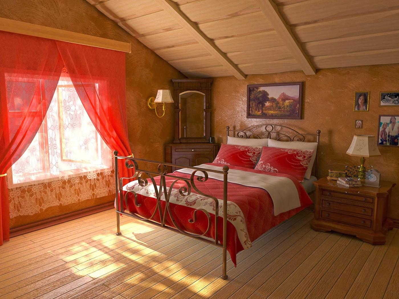Attic Bedroom Ideas: Foundation Dezin & Decor...: Attic Bedroom Design