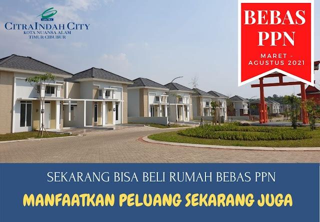 Rumah Bebas PPN Citra Indah City