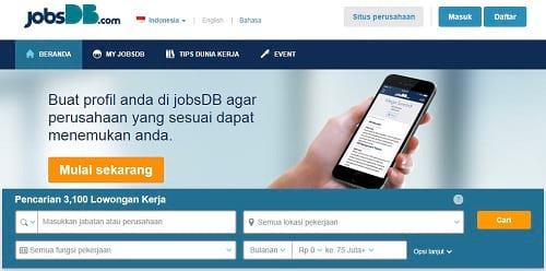 Info Lowongan Kerja di JobsDB.com