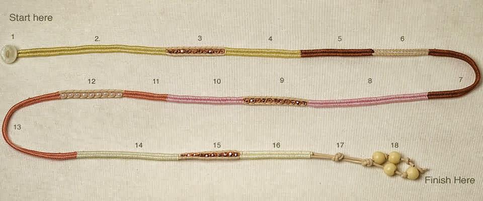 pulseras espiga, brazaletes herringbone, bisutería, diys