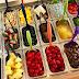 Chuyên bán khay inox đựng trái cây trong quầy trái cây tự chọn với nhiều kích cỡ
