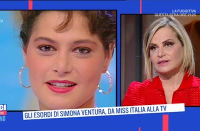 Simona Ventura foto da giovane e oggi 19 aprile