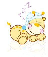 imagen de niño durmiendo animado