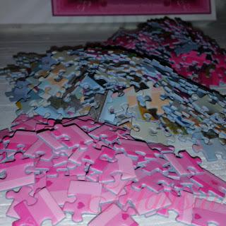 Puzzleteile sortiert