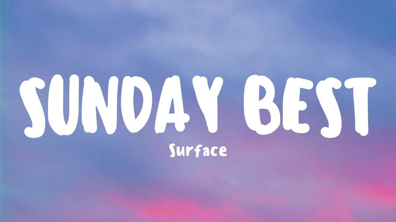 Lagu Sunday Best Viral dan Hits di Tik Tok