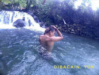 """pemandian nuansa alam tropis ekowisata taman sungai mudal"""