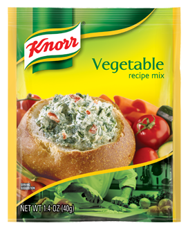 package of Knorr's vegetable dip mix