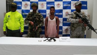 """Capturado presunto integrante del """"clan del golfo"""" en Beté  chocó"""