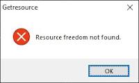 resource freedom not found