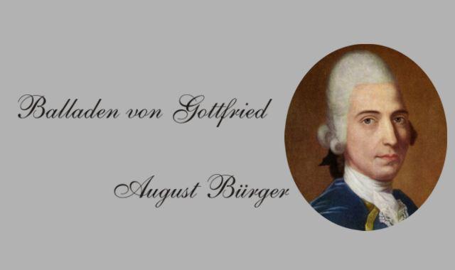 Gottfried August Bürger- Lenore