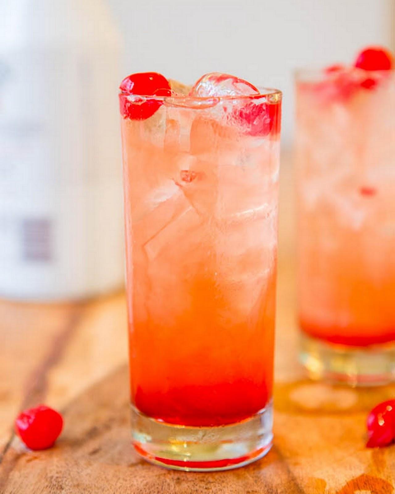 Malibu Rum And Pineapple Juice Drink Name