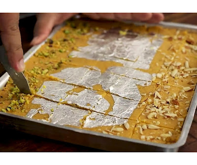 How to make besan barfi at home step by step
