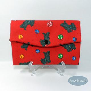 Playful Scottie Dogs Wallet