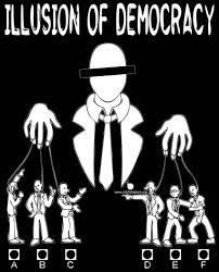 Hasil carian imej untuk demokrasi palsu