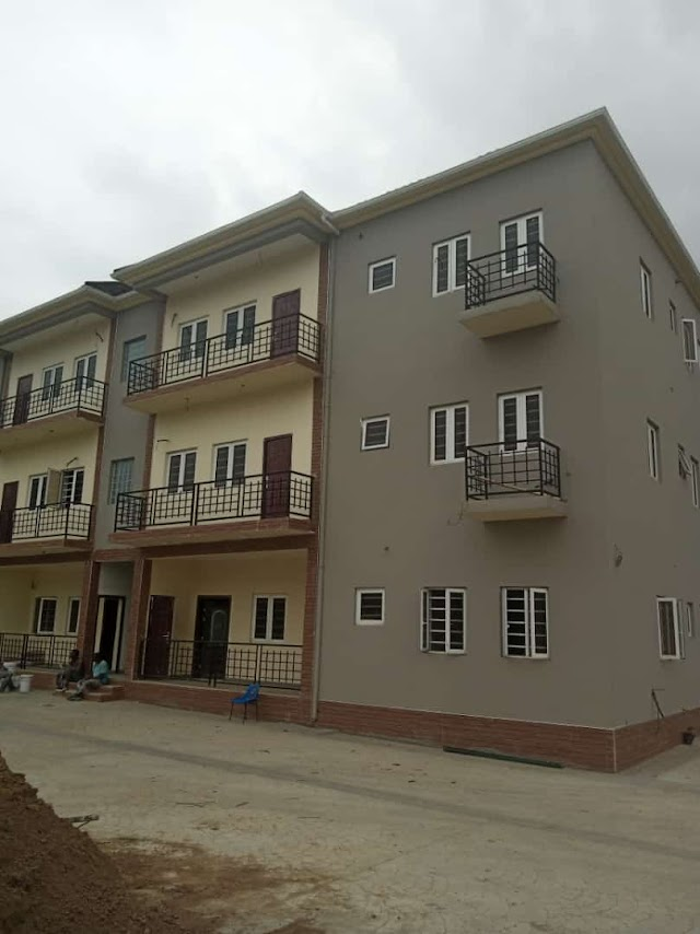 Newly built 12 units of 3bedroom flat with a Room BQ