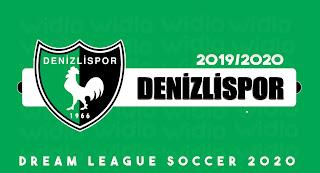 Denizlispor 19/20 - DLS20 Dream League Soccer 2020 Forma Kits ve logo