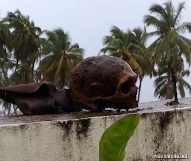 Playa desentierra cadáveres en República Dominicana