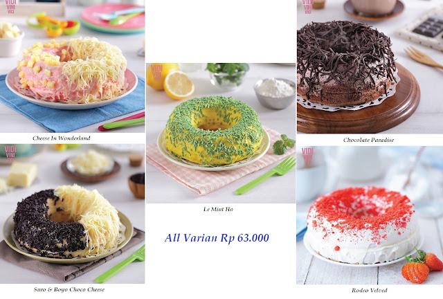 Daftar Harga Vidi Vini Vici Cake Surabaya