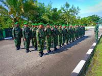 Melalui Minggu Militer Kodim 0910/Malinau Tingkatkan Kemampuan Prajurit