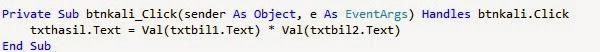 kali - Tutorial Menciptakan Kalkulator Dengan Visual Studio 2012
