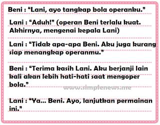 percakapan Beni dan Lani www.simplenews.me