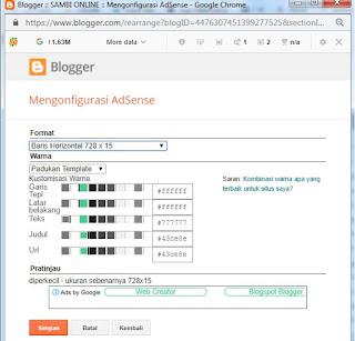 Cara Menampilkan Unit Iklan Link Google Adsense Terbaru