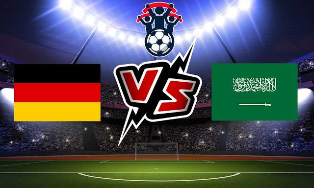 السعودية وألمانيا بث مباشر