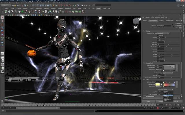 اوتوديسك مايا Autodesk Maya 2017 عملاق الرسوميات ثلاثية الأبعاد