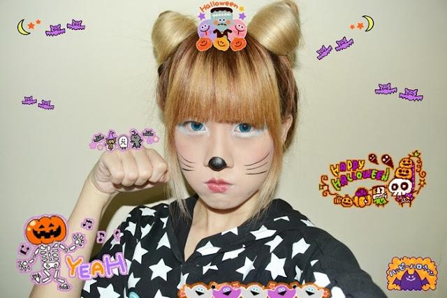 Happy Halloween 2013 - Kawaii and Creepy MakeUp indonesia ...