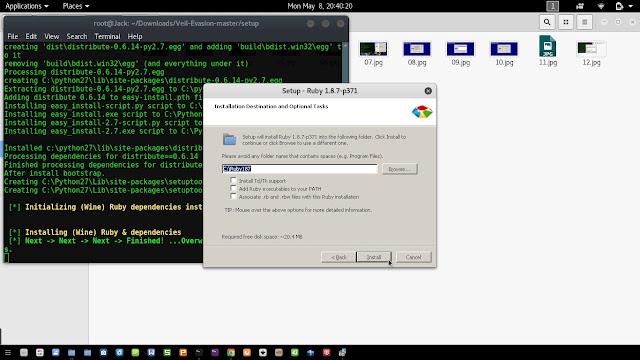 Cara Install Veil Evasion Framework di Kali Linux Terbaru