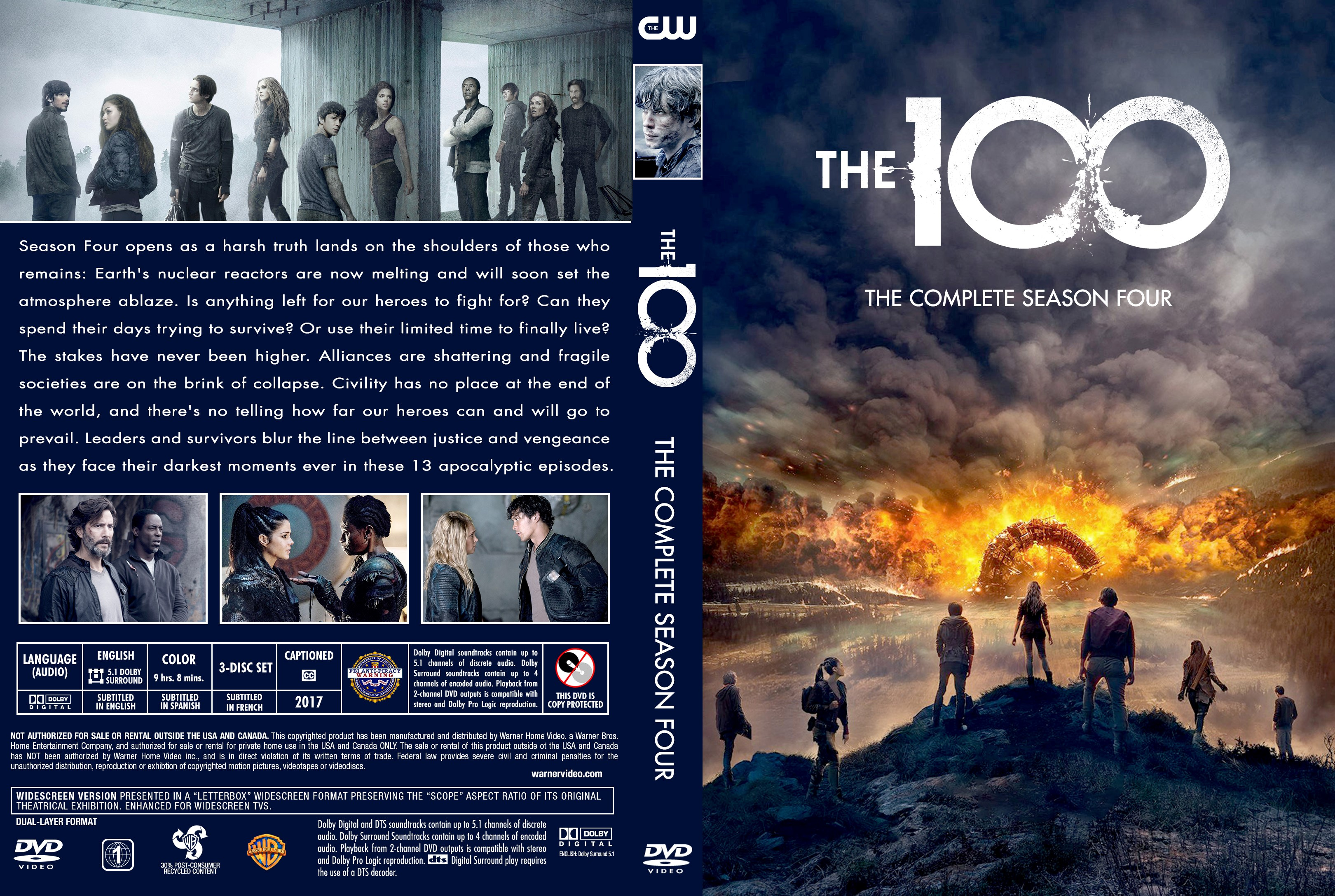 The 100 Staffel 4 Dvd Deutsch