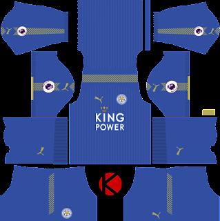 Leicester City Kit 2017/2018 - Dream League Soccer
