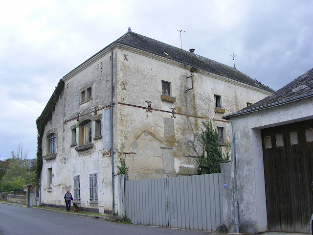 Abandoned Mittaine fertilizer factory, Le Grand Pressigny. Indre et Loire. France. Photo by Loire Valley Time Travel.