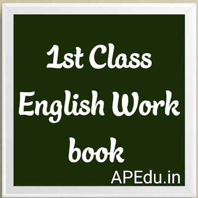 1st Class english work book