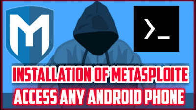 How to install Metasploite in Termux || Access any android phone || By SID