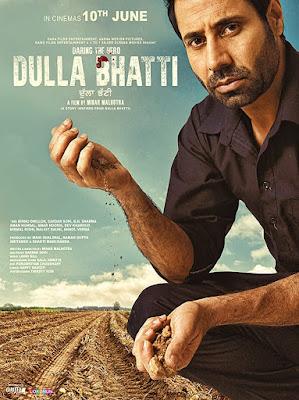 Dulla Bhatti Wala 2016 Punjabi 480p WEB HDRip 300Mb ESub