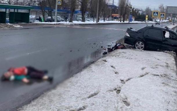 У Харкові машина на смерть збила двох жінок на пішохідному переході