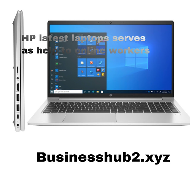HP laptop for online workers