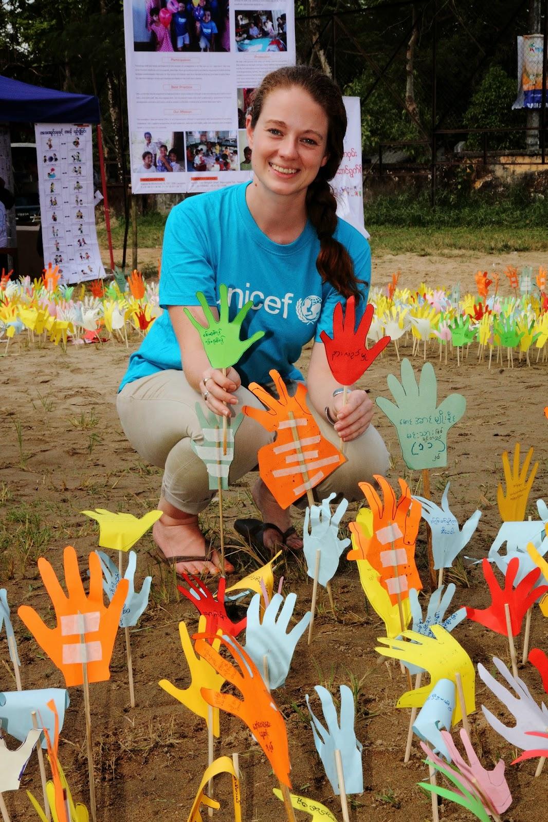 Unicef Myanmar Universal Children S Day 2013 Children Call For
