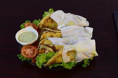 Chicken kathi roll recipe