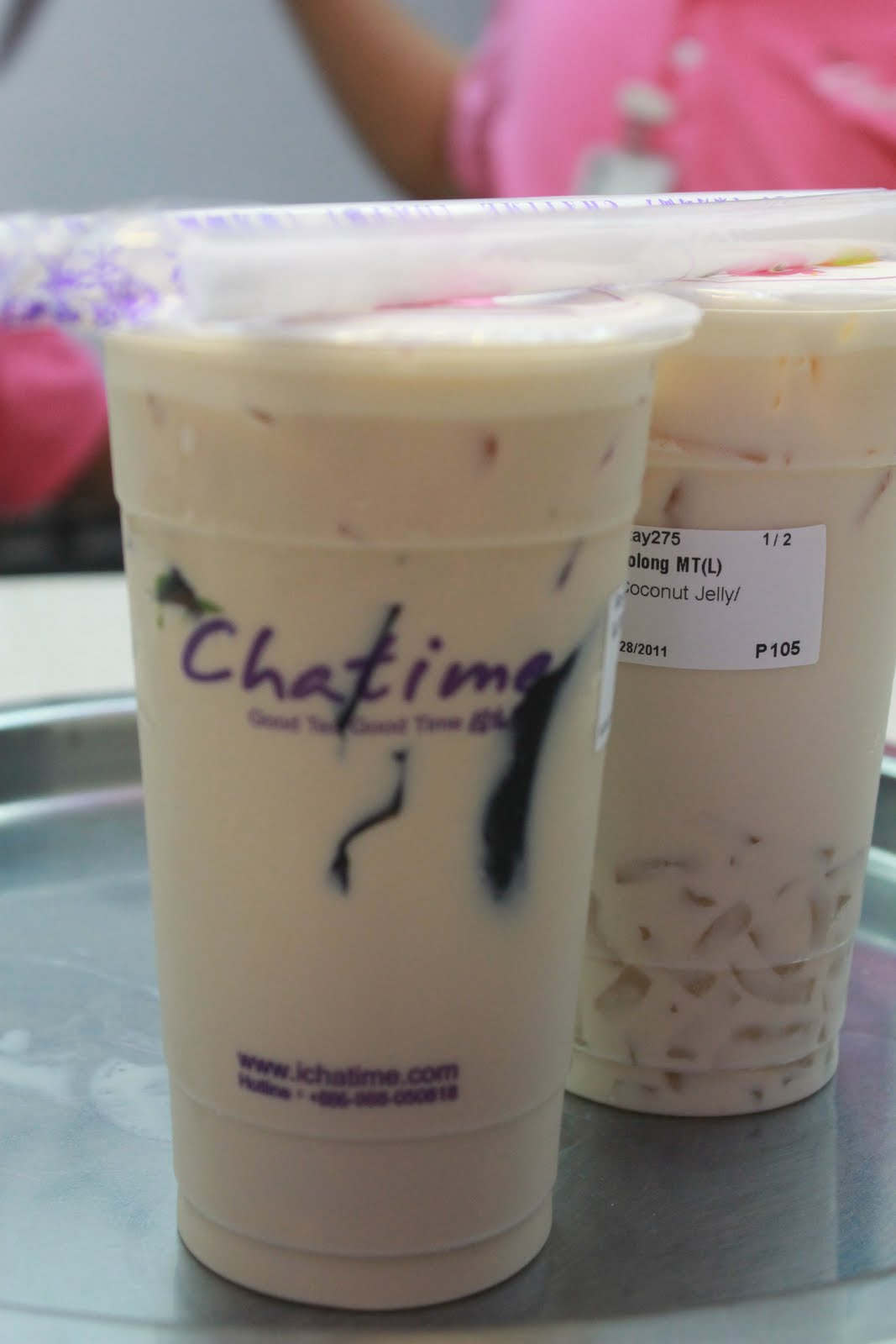 Sunday's Avenue: Chatime in Mall of Asia