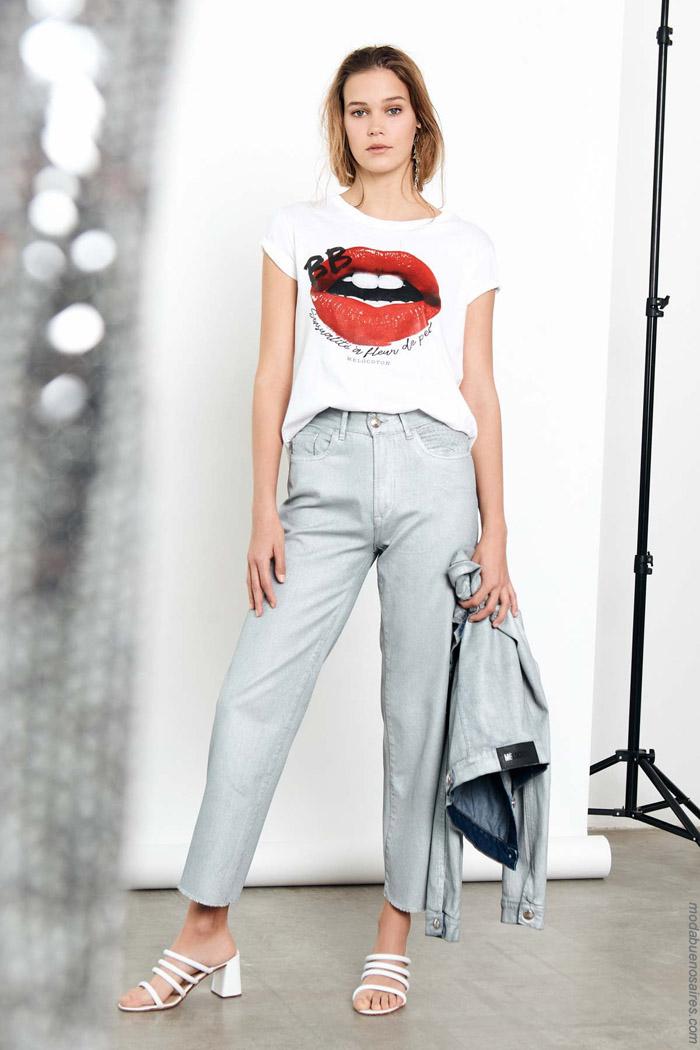 Ropa de moda mujer primavera verano 2020.