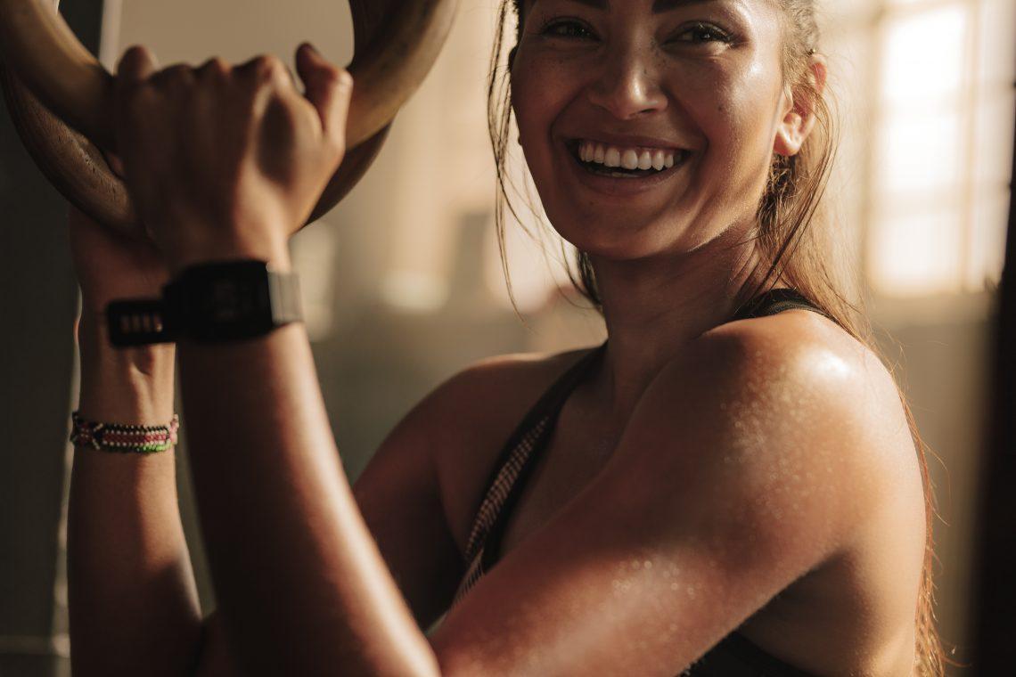 Exercise rejuvenates the skin