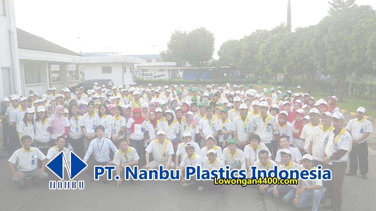 Lowongan Kerja PT. Nanbu Plastics Indonesia