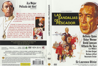 Cover, dvd: Las sandalias del pescador | 1968 | The Shoes of the Fisherman