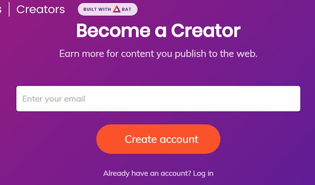Account Creation on Brave