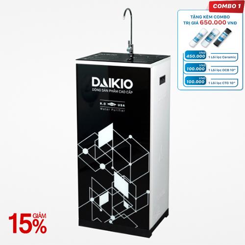 Máy lọc nước Daikio thông dụng DKW-00005H- Đen - 5 cấp