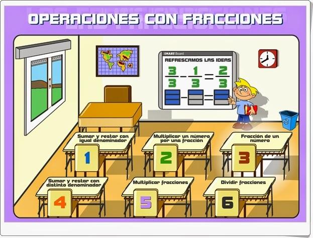 """""""Operaciones con fracciones"""""""