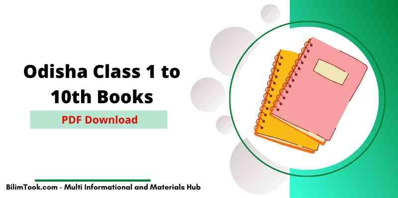 Odisha Board Class 1 to 10th Books - PDF Download