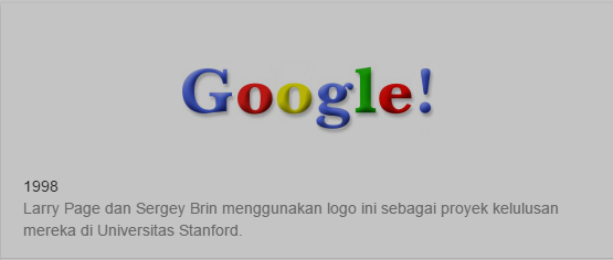 Hari Ini Google Perkenalkan Riwayat Logo Google Dari 1998 Sampai 2015